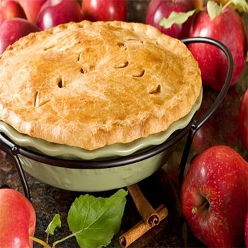 Apple Hot Baked Pie