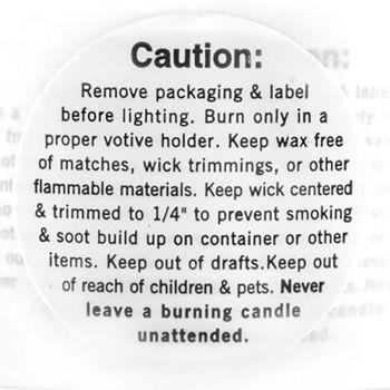 Warning/Caution Labels (Votive)