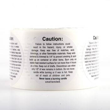 Warning/ Caution Labels (Large Container)
