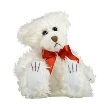 Mini Scraggles (White with Red Bow)
