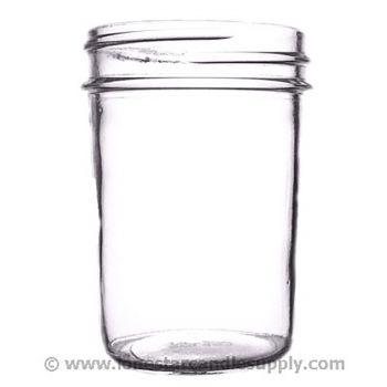 Smooth Sided Jelly Jar 8oz