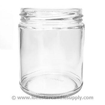 Straight Sided Round Jar 9oz