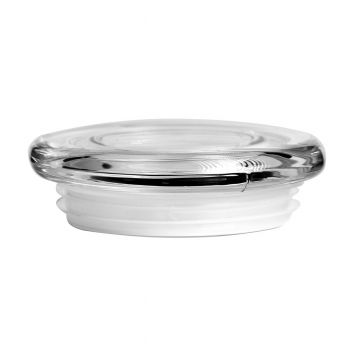 Anchor Glass Flat Lid (Large)