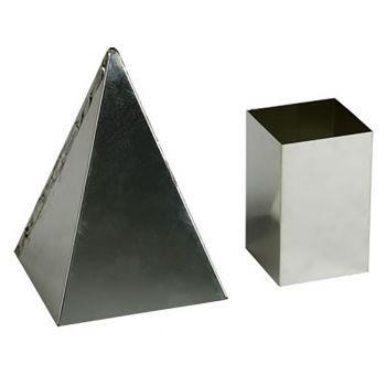 """Pyramid Mold (4.5"""" x 4.5"""" x 6.5"""")"""