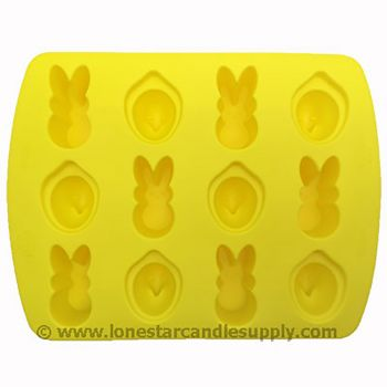 Silicone Easter Peeps Mold 12 count