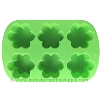 Silicone Flower Mold - 6 count