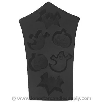Silicone Haunted House Mold - 6 count