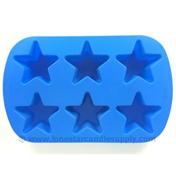 Silicone Star Mold - 6 count