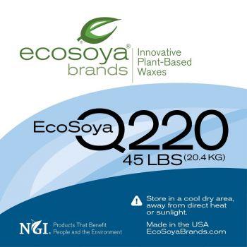 New! EcoSoya Q220 Soy Wax