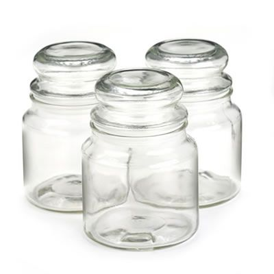 Anchor Country Comfort Jar 16oz w/ Glass Bubble Lid