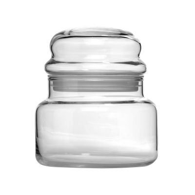 Libbey Storage Jar 15oz W/ Bubble Lid