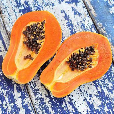 Agave Papaya Sunset (type)