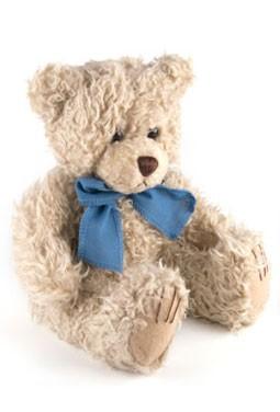 Long Hair Tan Scraggles Stuffed Bear